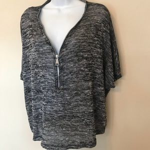 Love by Chesley top, size XL zipper front